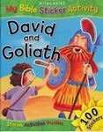 Picture of David and Goliath - My Bible Sticker Activity