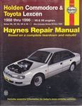 Picture of Holden Commodore & Toyota Lexcen 1988 to 1996 Haynes Repair Manual