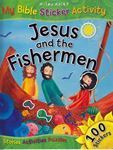 Picture of Jesus and the Fishermen - My Bible Sticker Activity