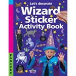 Picture of Let's decorate - Wizard Sticker Activity book