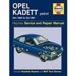 Picture of Opel Kadett petrol Service & Repair manual