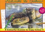 Picture of Poster Art - Animals to Colour