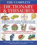 Picture of The Complete Dictionary & Thesaurus