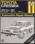 Picture of Toyota Cressida 1978 to 1982 Automotive Repair Manual