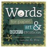 Picture of Words for Paper, Art & Craft Creations