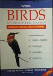 Picture of Sasol Birds of Southern Africa - Checklist and Alternative Names