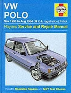 Picture of VW Polo Haynes Service and Repair Manual
