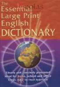 Picture of The Essential Large Print English Dictionary
