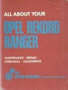 Picture of All About your Opel Rekord Ranger