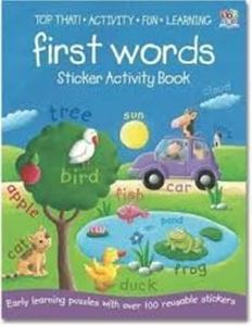 Picture of First Words Sticker Activity Book