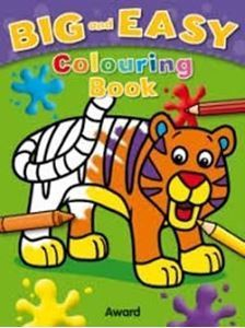 Picture of Big and Easy Colouring Book