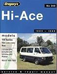 Picture of Gregory's Hi-Ace Service and Repair Manual (1983-1989)