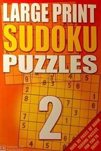 Picture of Large Print Sudoku Puzzles - Book 2