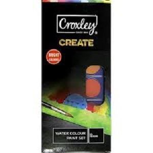 Picture of Croxley Watercolour Paint & Brush Set
