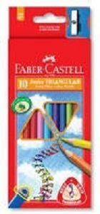 Picture of Faber Castell Junior Triangular Extra Thick Pencils - 10 pack