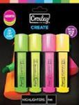 Picture of Croxley Highlighters pack of 4