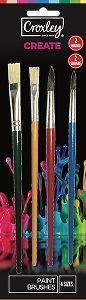 Picture of Croxley Set of 4 Paint Brushes