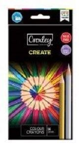 Picture of Croxley Woodfree Colour Pencils (14)