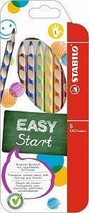 Picture of STABILO EASY colors Ergonomic Left-Handers Colour Pencil Assorted Box 6's