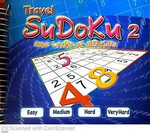 Picture of Travel Sudoku 2