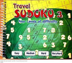 Picture of Travel Sudoku 3