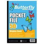Picture of Butterfly 50 page Pocket File