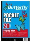 Picture of Butterfly 20 page Pocket File