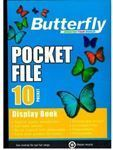 Picture of Butterfly 10 page Pocket File