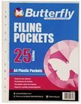 Picture of Butterfly Filing Pockets (25)