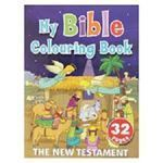 Picture of My Bible Colouring Book - The New Testament