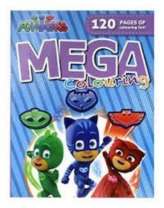 Picture of PJ Masks Mega Colouring Book
