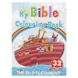 Picture of My Bible Colouring Book - The Old Testament