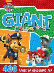Picture of Paw Patrol-Giant Colouring Book