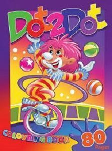 Picture of Dot 2 Dot Colouring Book
