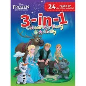 Picture of Disney Frozen Northen Lights 3-in-1 Colour, Story & Activity