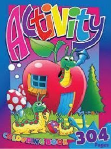 Picture of Activity Colouring Book