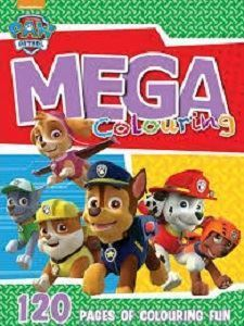 Picture of Nickelodeon-Paw Patrol Mega Colouring