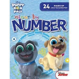 Picture of Disney - Puppy Dog Pals  Colour by Number