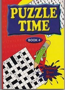 Picture of Puzzle Time-Book 4