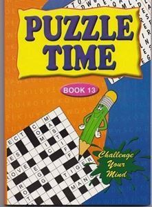 Picture of Puzzle Time-Book 13