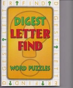 Picture of Digest Letter Find-Word Puzzles