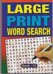 Picture of Large Print Word Search - Book 14