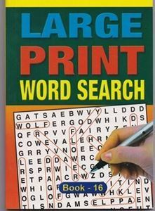 Picture of Large Print Word Search - Book 16