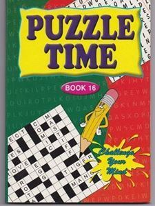 Picture of Puzzle Time-Book 16