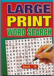 Picture of Large Print Word Search - Book 19
