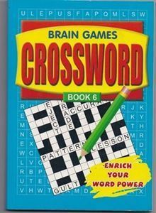 Picture of Brain Games Crossword-Book 6