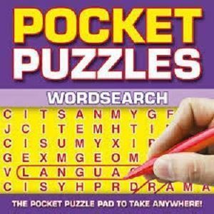 Picture of Pocket Puzzles-Wordsearch