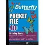 Picture of Butterfly 40 page Pocket File