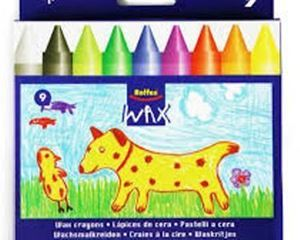 Picture of Rolfes Jumbo Wax Crayons (9)