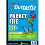 Picture of Butterfly 30 page Pocket File